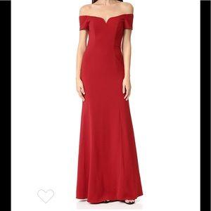🔥 Badgley Mischka | Off Shoulder Gown